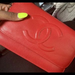 Chanel Handbag Red